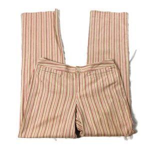 Ann Taylor Loft Striped Pants Sz 6